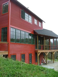 Corrugated Metal Siding Design, Pictures, Remodel, Decor and Ideas - page 3