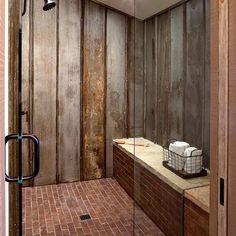 55 Beautiful Urban Farmhouse Master Bathroom Makeover - Page 18 of 59 Urban Farmhouse, Rustic Farmhouse, Rustic Wood, Rustic Feel, Farmhouse Style, Rustic Style, Rustic Industrial, Farmhouse Design, Rustic Design
