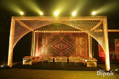 Decoration Ideas - The Grand Decoration! Photos, Hindu Culture, Beige Color, Decoration, Wedding pictures, images, vendor credits - Kundan Mehandi Art, Dipak Colour Lab Pvt Ltd, Mahima Bhatia Photography, Asiana Couture, Jasmeet Kapany Hair and Makeup, WeddingPlz