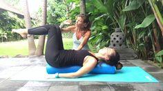 Pilates Inner Core on Foam Roller