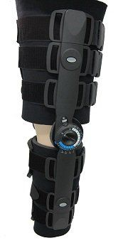 Post Op Adjustable Knee Brace - Hinged ROM Knee Orthosis Immobilization for Knee Injury Recovery & Knee Burden Relief Medical Engineering, Medical Technology, Orthotics And Prosthetics, Knee Brace, Knee Injury, Braces, Recovery, Ski, Bridge