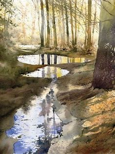 Watercolor Grzegorz Wrobel (b 1983) Poland