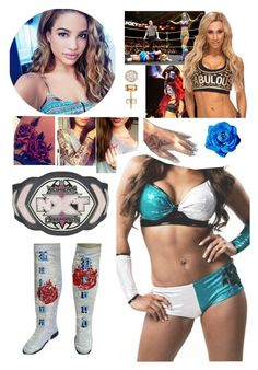 """"""" Shella NXT ~ Match against Carmella"""" by queenofwrestling ❤ liked on Polyvore featuring Brooks, Champion, WWE, NXT and carmella"""