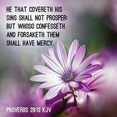 Proverbs 28:13 KJV