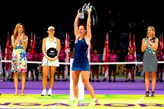 "forehandwinner: "" ""Dominika Cibulkova wins the WTA Finals 2016  "" """