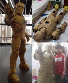 Iron man cartón