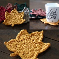 Crochet Patterns Fall Fall Maple Leaf – free crochet pattern and video by Cyprianne Nolan at Pretty Da… Crochet Leaf Patterns, Fall Patterns, Crochet Leaves, Crochet Fall, Unique Crochet, Crochet Flowers, Free Crochet, Crochet Appliques, Diy Flowers
