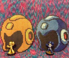 Mega Man perler beads by perler_purrs