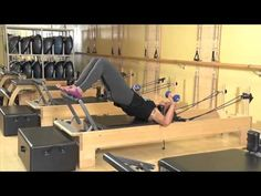 Club Pilates Side Oblique Work on the Reformer - YouTube