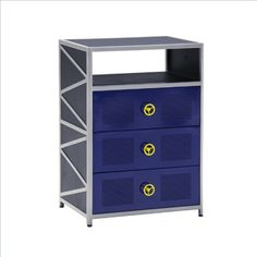 Dune Buggy 3 Drawer Chest (Black Sand... For Only $249.50