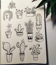 """219 Likes, 14 Comments - Anna Almén (@createwithanncakes) on Instagram: """"A lot of you guys have been telling me that you don't know how to draw or doodle, so I posted a…"""""""