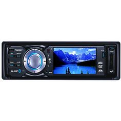 Sumas Media SM-30BT 3 Digital Wide Touch Screen Car Stereo DVD Receiver with Bluetooth