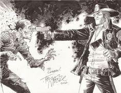 Rick Grimes by Tony Moore