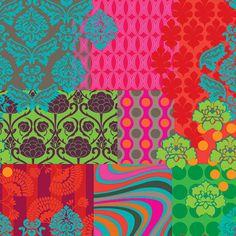 estampa patchwork Bebel Franco para o La na Ladeira