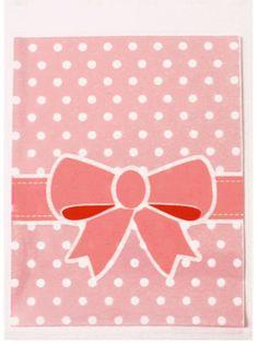pochette cadeaux noeuds, presents, saint valentin, la fabrique du canari