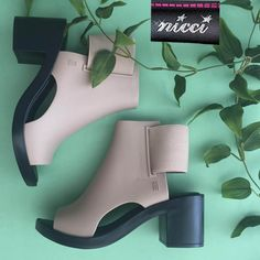 Marvellous new range of #Melissa shoes now at #Nicci