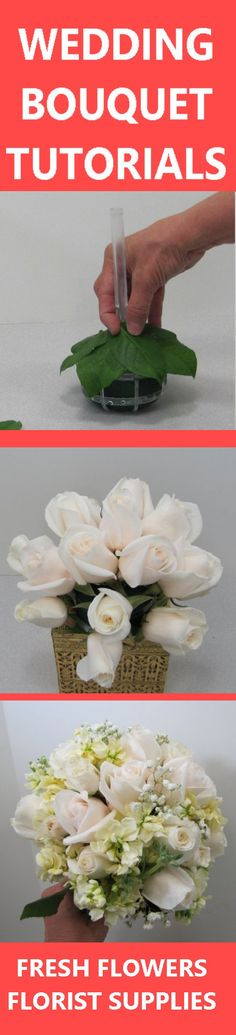Wholesale Wedding Flowers - Buy in Single Bunches Learn how to make wedding bouquets, bridal corsages, groom boutonnieres, reception centerpieces and church decorations. Buy wholesale flowers and discount florist supplies.