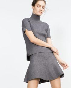 Image 2 of SKATER SKIRT from Zara