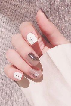 How to start mink eyelash business at home? Classy Nails, Stylish Nails, Classy Nail Designs, Nail Art Designs, Cute Nail Art, Cute Nails, Soft Nails, Kawaii Nails, Best Acrylic Nails
