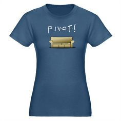 Pivot! Organic Women's Fitted T-Shirt (dark)