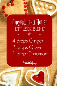 I love these Christmas Diffuser Blend Recipes! Definitely saving for later. When the weather is cooler and the carols are playing, a holiday scent in the diffuser is a must. Enjoy my 9 favorite Christmas essential oil diffuser recipes. Ginger Essential Oil, Essential Oil Diffuser Blends, Doterra Essential Oils, Doterra Diffuser, Deodorant, Diffuser Recipes, Aromatherapy Oils, Aromatherapy Recipes, Living Oils