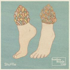 Bombay Bicycle Club – Shuffle artwork by Katie Scott Katie Scott, Illustrations, Illustration Art, Club Poster, Poster Wall, Album Cover Design, Music Film, Cover Art, Cd Cover