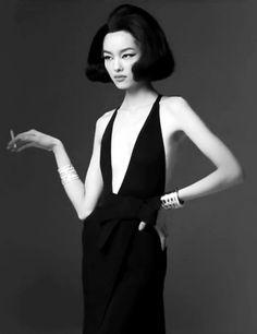 Fei Fei Sun Vogue Italia - January 2013 Photographer - Steven Meisel