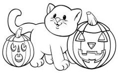 Download Cute Halloween Coloring Pages Ideas