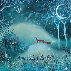 Amanda Clark - By the blue moon