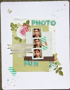 Photo fun by Bettiescrapbook at Studio Calico