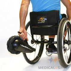SmartDrive Power Assist System, wheelchair smart wheels, wheelchair power assist.  >>> See it. Believe it. Do it. Watch thousands of spinal cord injury videos at SPINALpedia.com