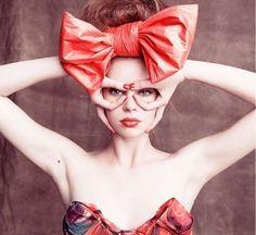 When I am a Princess I will wear big bows on my head.