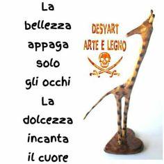 #arte  #wood #legno #legnodiulivo #creativita #passione #fantasia  #bellefrasi #solocosebelle    #desyartarteelegno #giraffa #giraffainlegno