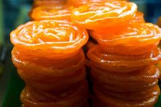 This sweet is a hot favourite on any special occasion be it a birthday, wedding or festival. Jalebis though mostly eaten by themselves, can also be soaked in warm milk.