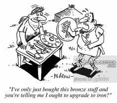 iron age cartoon - Buscar con Google