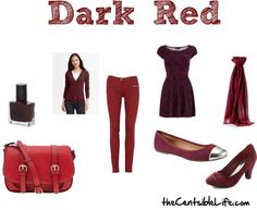 Dark Red: Fall Trends