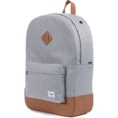 Herschel Heritage Backpack - Grey Tan PU Herschel Heritage Backpack be939f3a729b9