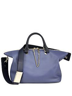 Chloé Baylee Small Two-Tone Satchel $2050