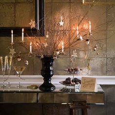 Naturally glamorous | Christmas decorating ideas | PHOTO GALLERY | Homes & Gardens | Housetohome.co.uk