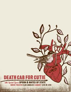 Death Cab For Cutie - Mates Of State - Spoon
