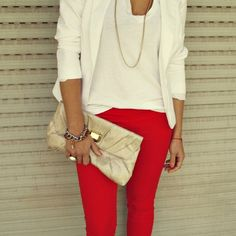 Red and White Style