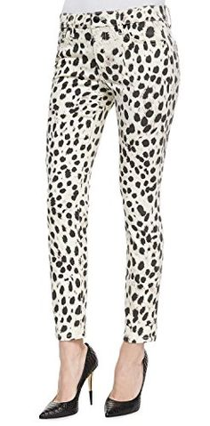 If you were born to be wild, then cheetah-print trousers are a must. Wear them with red hot pumps!