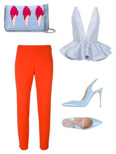 """hello Friday"" by szilvi-srei on Polyvore featuring Leal Daccarett, MSGM, Casadei and STELLA McCARTNEY"