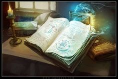Wonderful, Spell Books by Tsabo6.deviantart.com on @deviantART