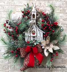 Good Afternoon sister and all,enjoy your afternoon, xxx❤❤❤💌 Christmas Swags, Christmas Door, Holiday Wreaths, Christmas Holidays, Holiday Decor, Handmade Christmas Decorations, Diy Christmas Gifts, All Things Christmas, Arte Floral