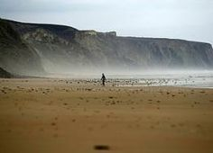 Hidden beaches on the west coast of the Algarve. http://www.hideawayportugal.com/modules/property/listing-1089.htm