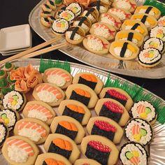G* omg!! What a sweet sushi!! Oookie Cookie (@oookiecookie)