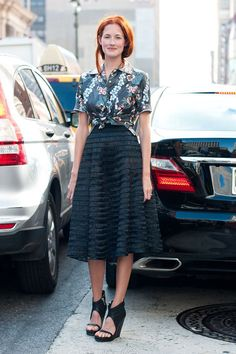 Style File:Taylor Tomasi Hill 的印花穿搭實錄