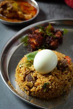 Rice Side Dishes, Food Dishes, Briyani Recipe, Baby Food Recipes, Rice Recipes, Veg Thali, Healthy Indian Recipes, Bengali Food, Biryani