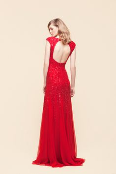 saab.  oh how i wish i had some where to wear a gown like this.